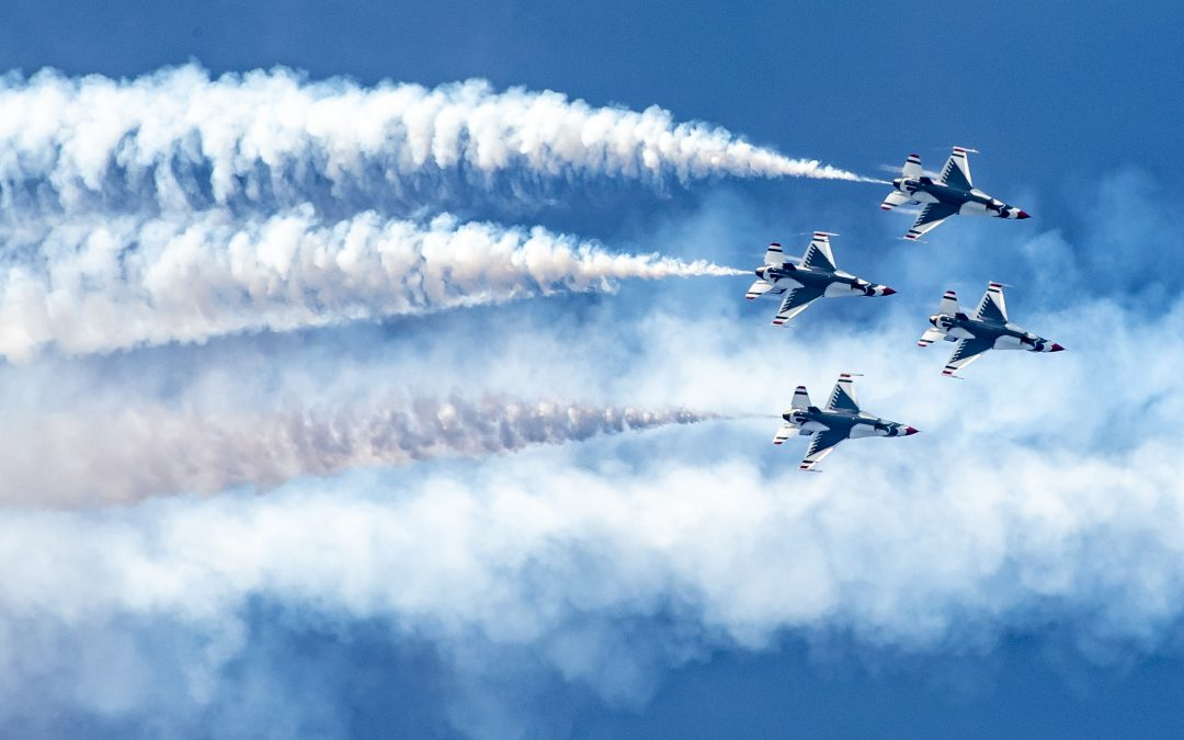 "U.S. Air Force Air Demonstration Squadron ""Thunderbirds"""