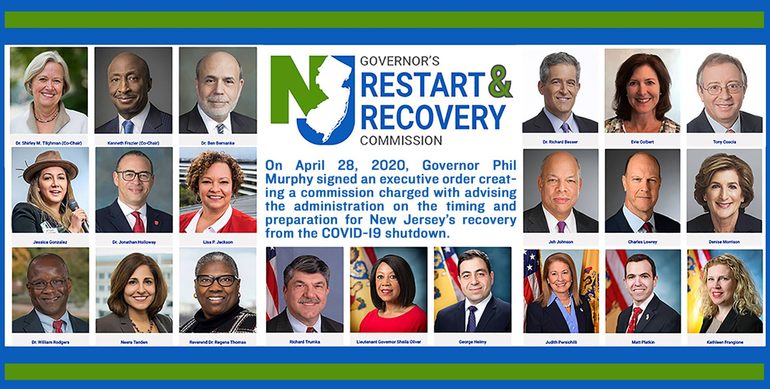 Governor Murphy Names Commission to Advise on Restart and Recovery of State Economy